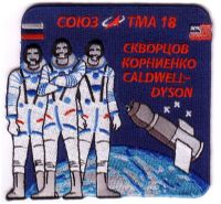 Official Soyuz TMA-18 Mission Patch